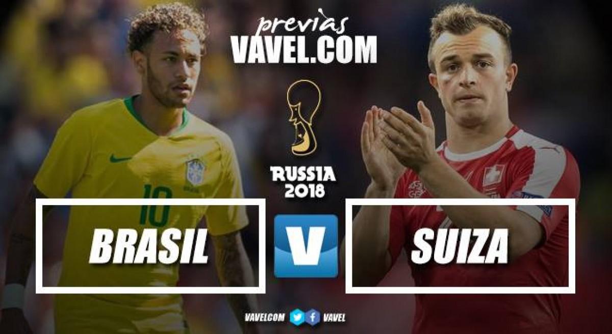 Previa Brasil - Suiza: van por los primeros tres puntos