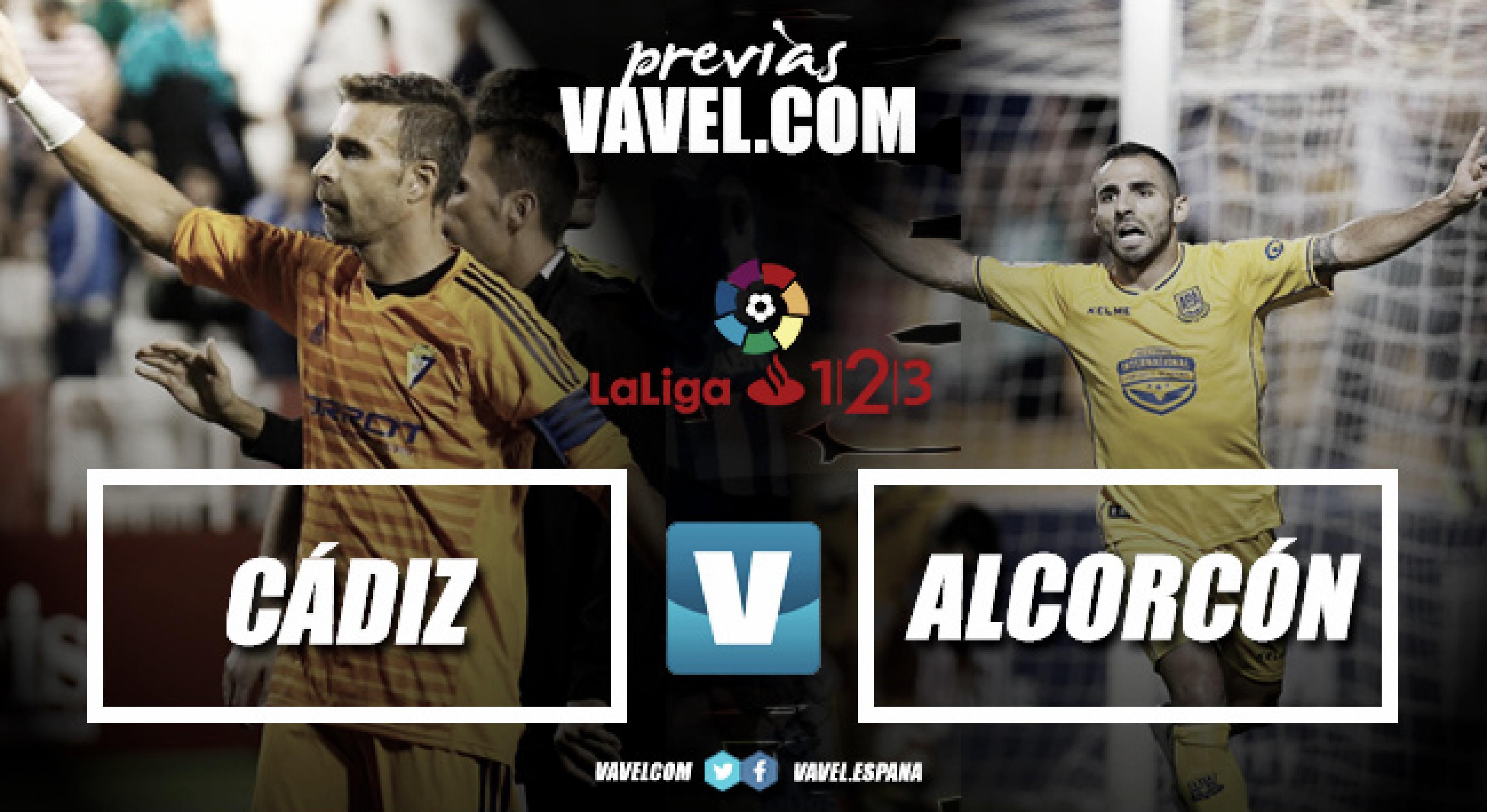 Previa Cádiz - Alcorcón: duelo amarillo en el Carranza
