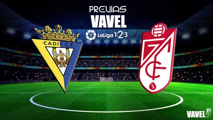 Previa Cádiz CF - Granada CF: los Reyes Magos pasan por el Carranza