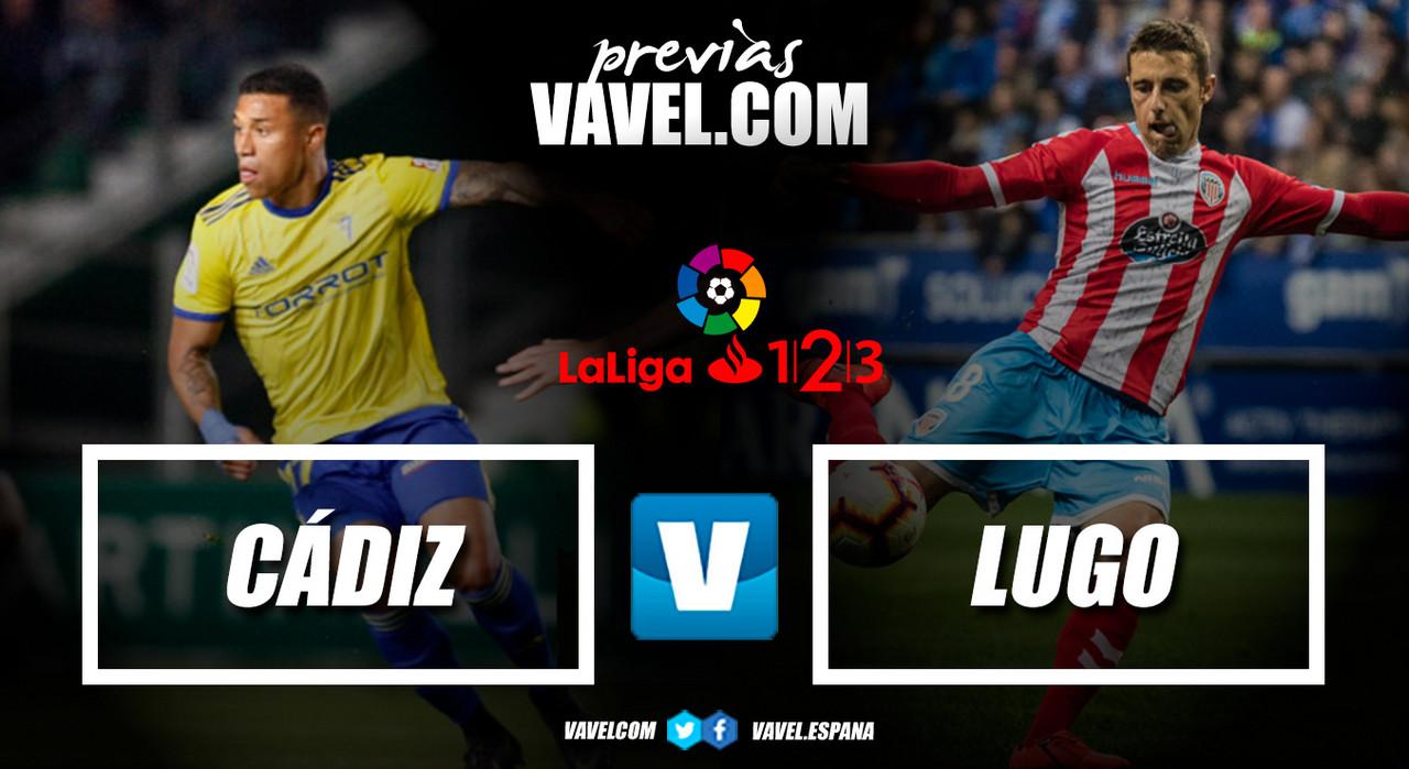 Previa Cádiz CF - CD Lugo: ¿a la tercera va la vencida?