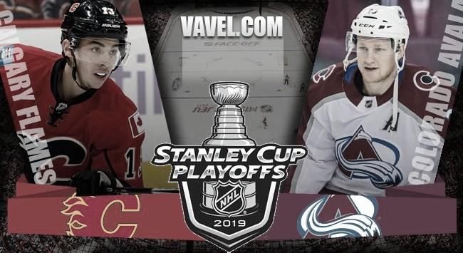 Previa Calgary Flames – Colorado Avalanche: Colorado con el objetivo de derrotar a uno de los favoritos