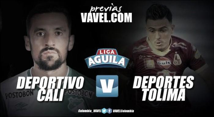 Previa Deportivo Cali vs Deportes Tolima: En busca por un lugar entre los ocho