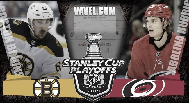 Previa Boston Bruins – Carolina Hurricanes: experiencia frente a efectividad