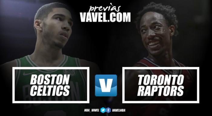 Previa BostonCeltics – Toronto Raptors: duelo de aspirantes