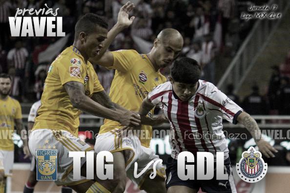 Previa Chivas - Tigres: Culmina la jornada 2 en Zapopan