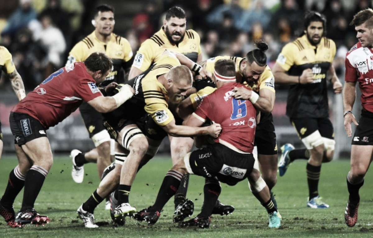 Hurricanes-Lions, el destacado de la duodécima semana del Super Rugby