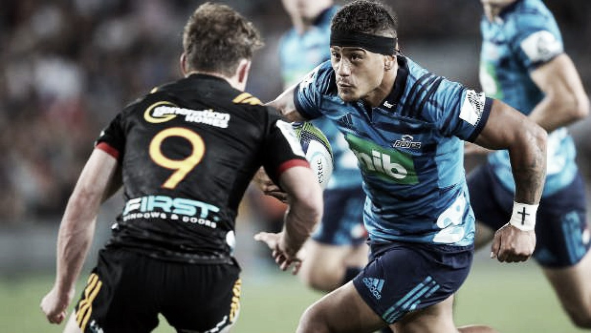 Chiefs-Blues, el destacado en la octava semana del Super Rugby