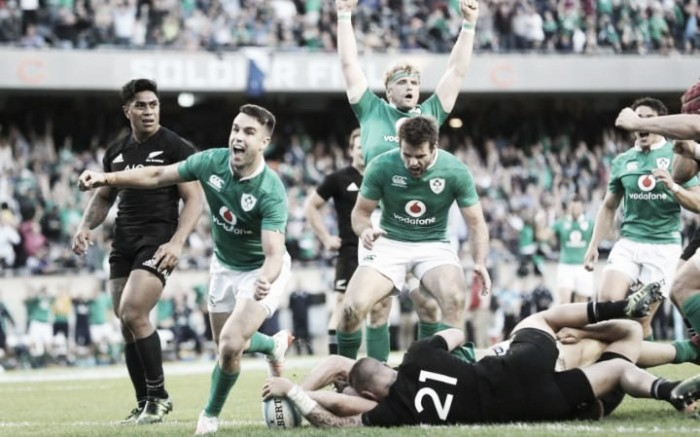 Irlanda-Nueva Zelanda, el destacado del día