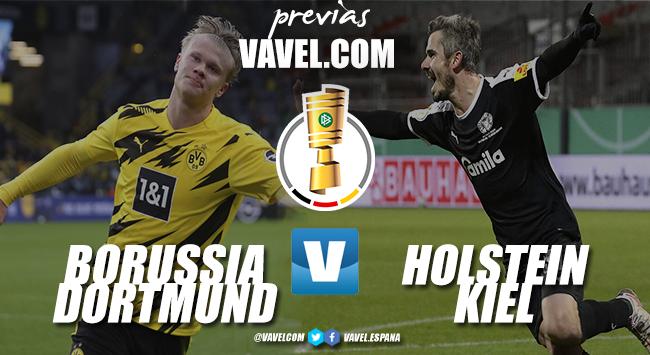 Previa Borussia Dortmund - Holstein Kiel: el favorito y la cenicienta