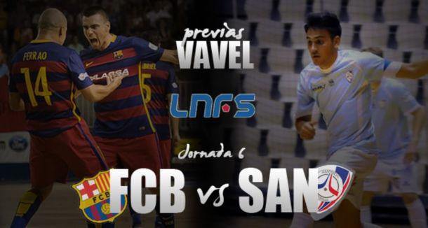 FC Barcelona Lassa - Santiago Futsal: presente contra futuro para Diego Quintela
