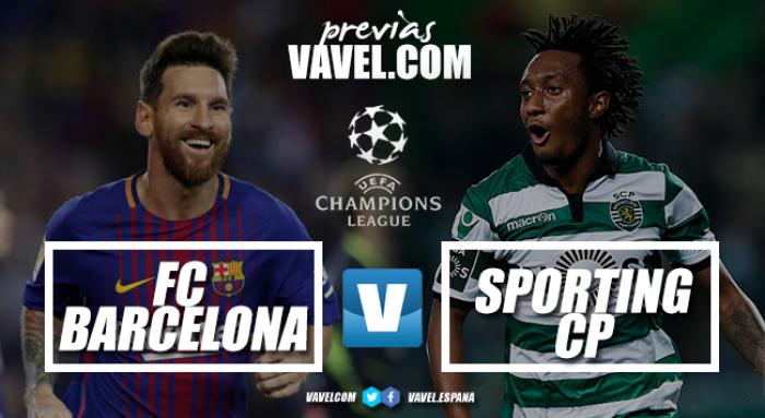 Previa FC Barcelona - Sporting de Portugal: la necesidad contra la tranquilidad