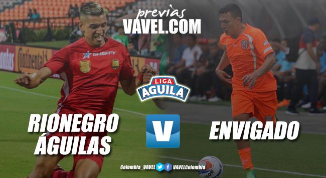 Previa Rionegro Águilas vs Envigado FC: uno para entrar a los ocho, otro para salir del fondo de la tabla