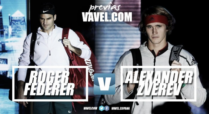 Previa Roger Federer - Alexander Zverev: una victoria para sentenciar el pase a las semifinales