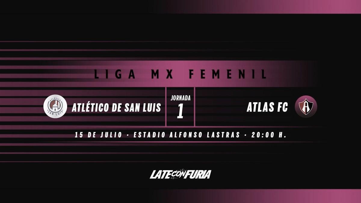 Previa Atlético de San Luis Femenil - Atlas Femenil: Inicia el futbol femenil en San Luis