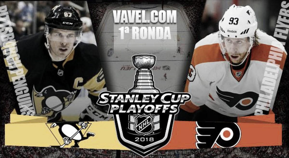 Previa Pittsburgh Penguins - Philadelphia Flyers: la Batalla de Pensilvania