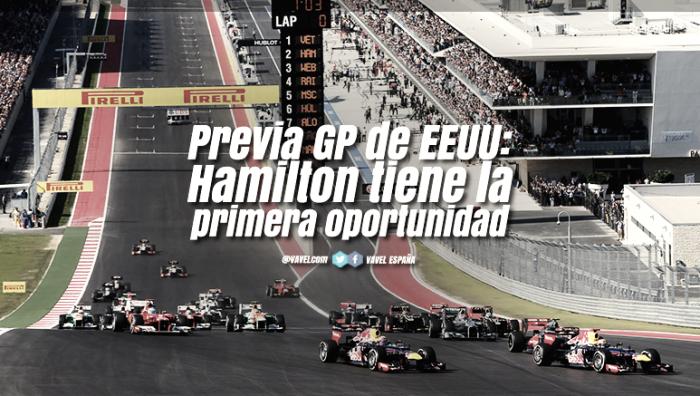 Previa GP de EEUU 2017: Hamilton tiene la primera oportunidad