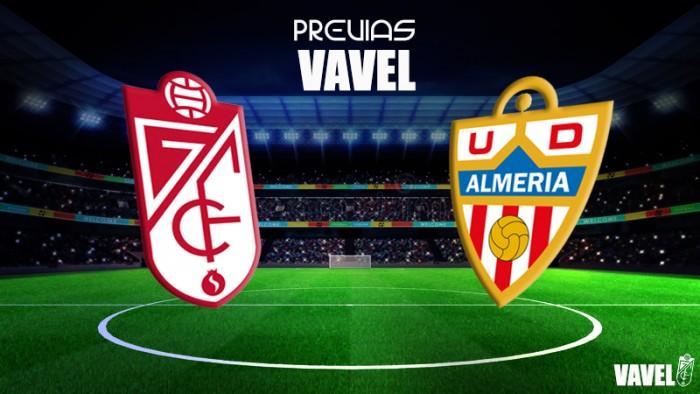 Previa Granada CF - UD Almería: derbi de sensaciones y reencuentros