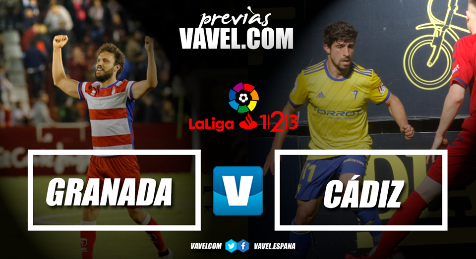 Previa Granada CF - Cádiz CF: vencer para conseguir la gloria del ascenso