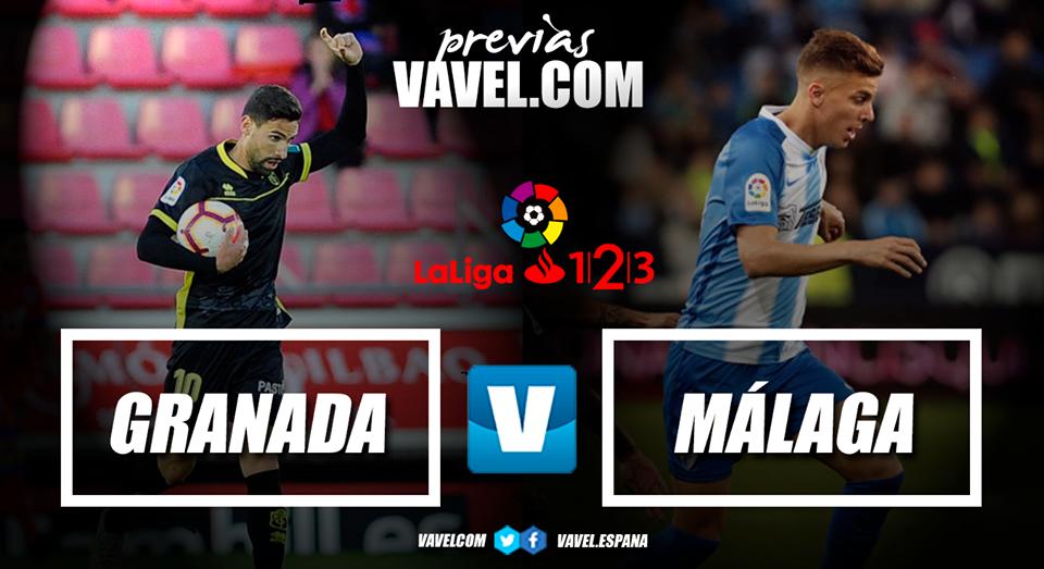Previa Granada CF - Málaga CF: vencer para aspirar al ascenso