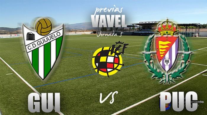 CD Guijuelo - Real Valladolid Promesas: a mantener sensaciones