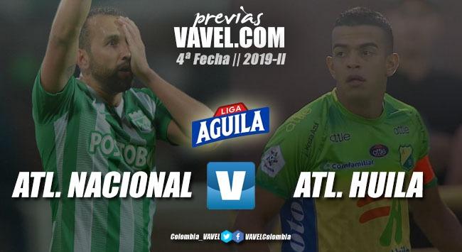 Previa Atlético Nacional vs Atlético Huila: Ganar para gustar