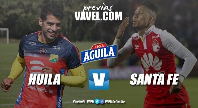 Previa Atlético Huila vs Independiente Santa Fe: duelo de coleros