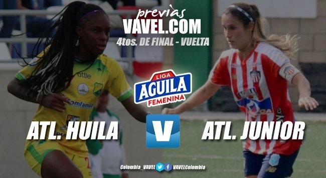 Previa: Atlético Huila vs. Atlético Junior: El todo o nada para buscar la clasificación a semifinales