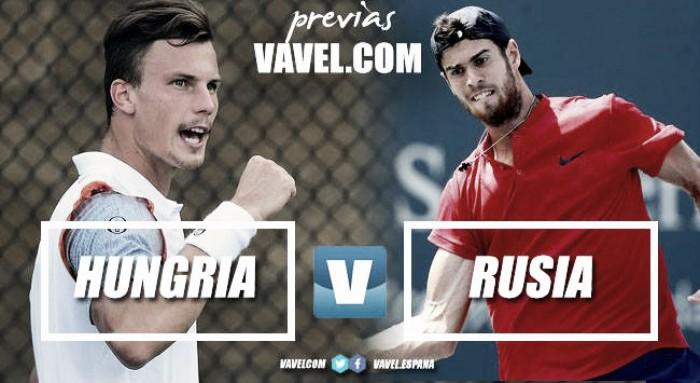 Copa Davis 2017. Previa Hungría - Rusia: la 'Next Gen', a impedir la sorpresa
