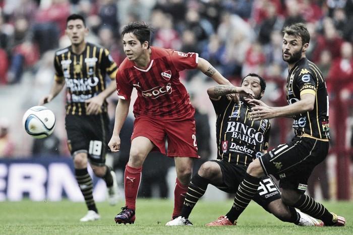 """Independiente -Olimpo: """"Rojo el 3"""""""