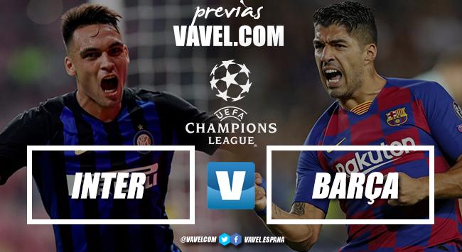 Previa Inter de Milán - Barcelona: paseo por Europa