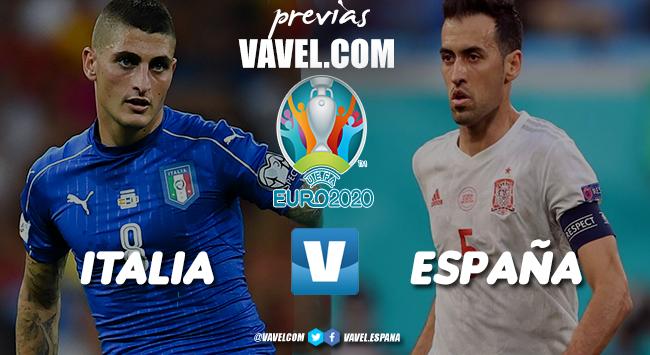 Previa Italia vs España: a repetir 2008 y 2012