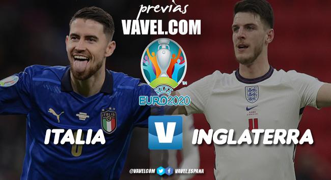 Previa Italia vs Inglaterra: rumbo a la gloria