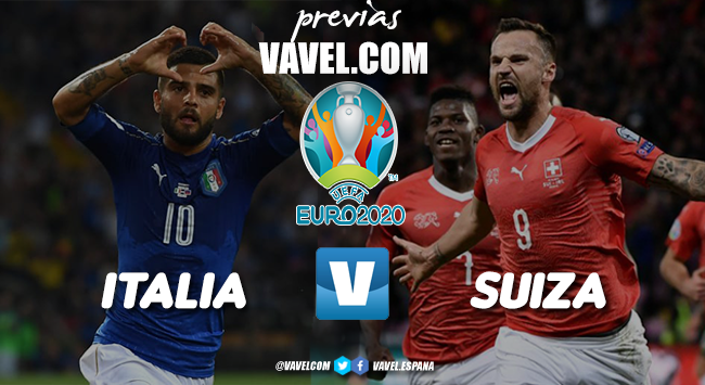 Previa Italia vs Suiza: por la clasificación