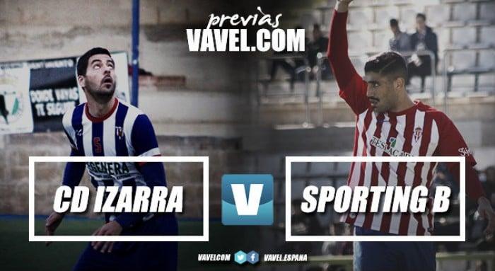 Previa CD Izarra - Sporting de Gijón B: Merkatondoa, terreno sin conquistar por los astures