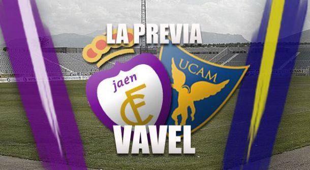 Real Jaén - UCAM Murcia CF: seguir la estela del líder como objetivo
