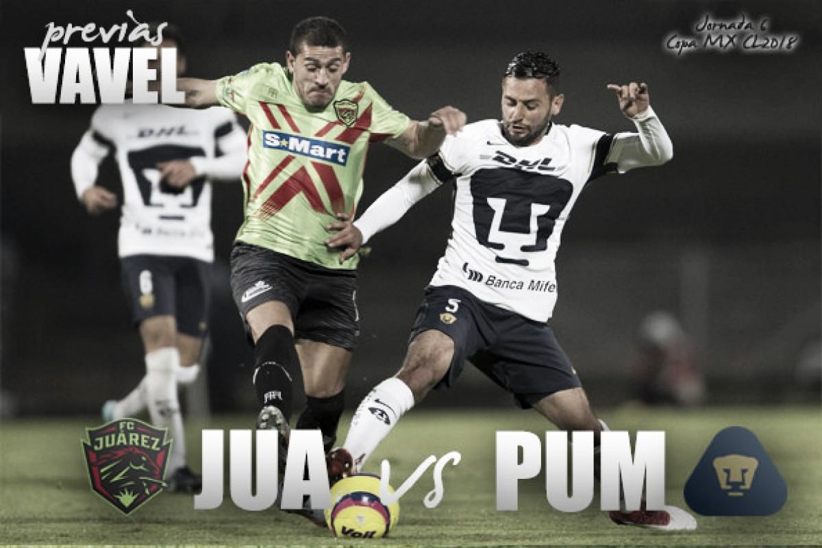 Previa Juárez - Pumas: por el boleto a octavos de final