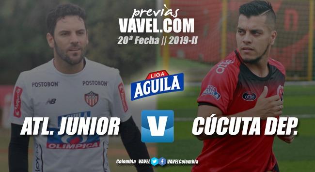 Previa Junior de Barranquilla vs. Cúcuta Deportivo: finaliza el todos contra todos