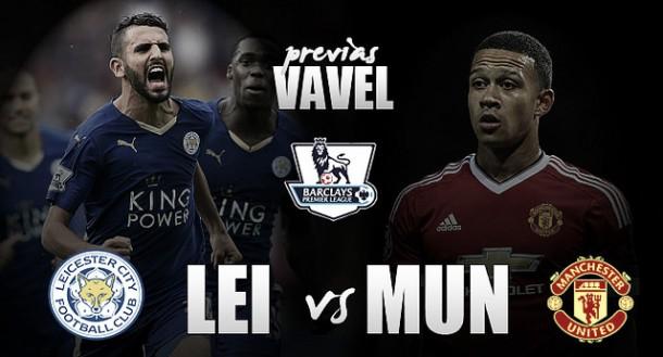 Leicester City - Manchester United: duelo en las alturas