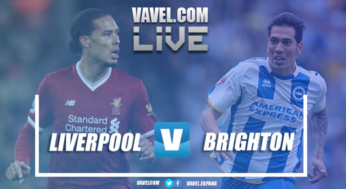Resumen Liverpool 4-0 Brighton: Los reds se pasean en su último ...