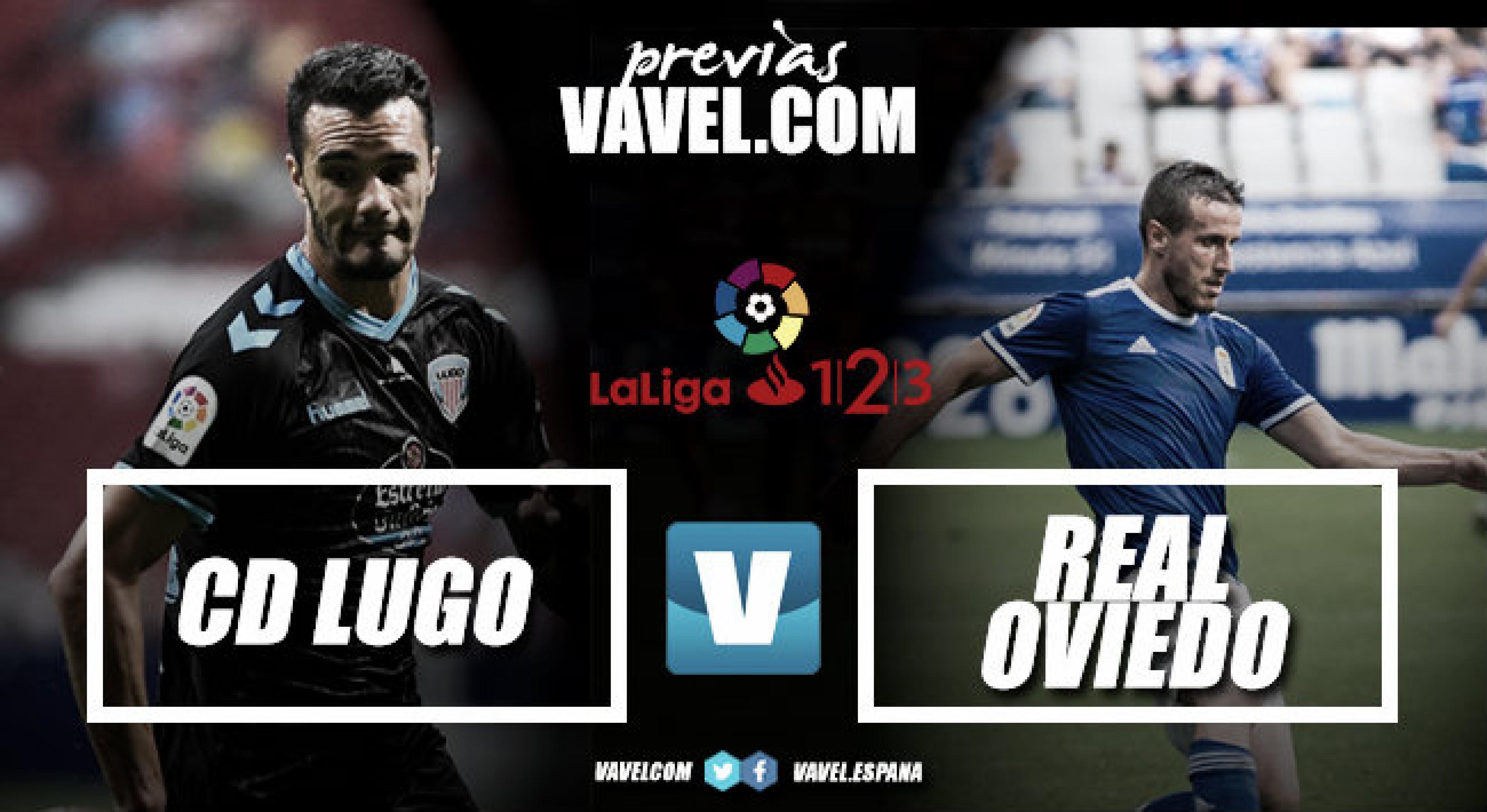 Previa del C. D. Lugo - Real Oviedo: duelo por volver a lo más alto