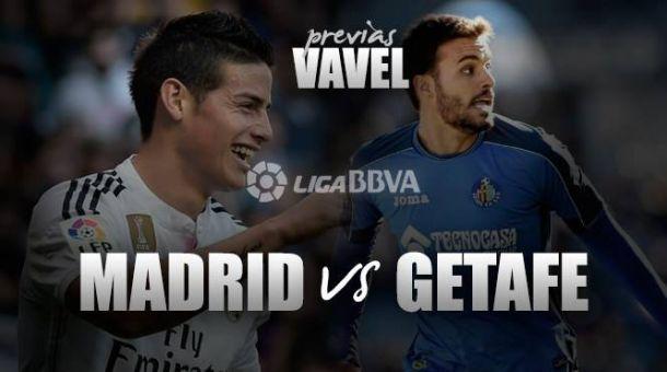 Real Madrid - Getafe: tregua en mitad de la nada
