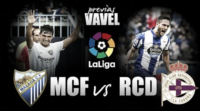 Previa Málaga - Deportivo: Garitano pende de La Rosaleda