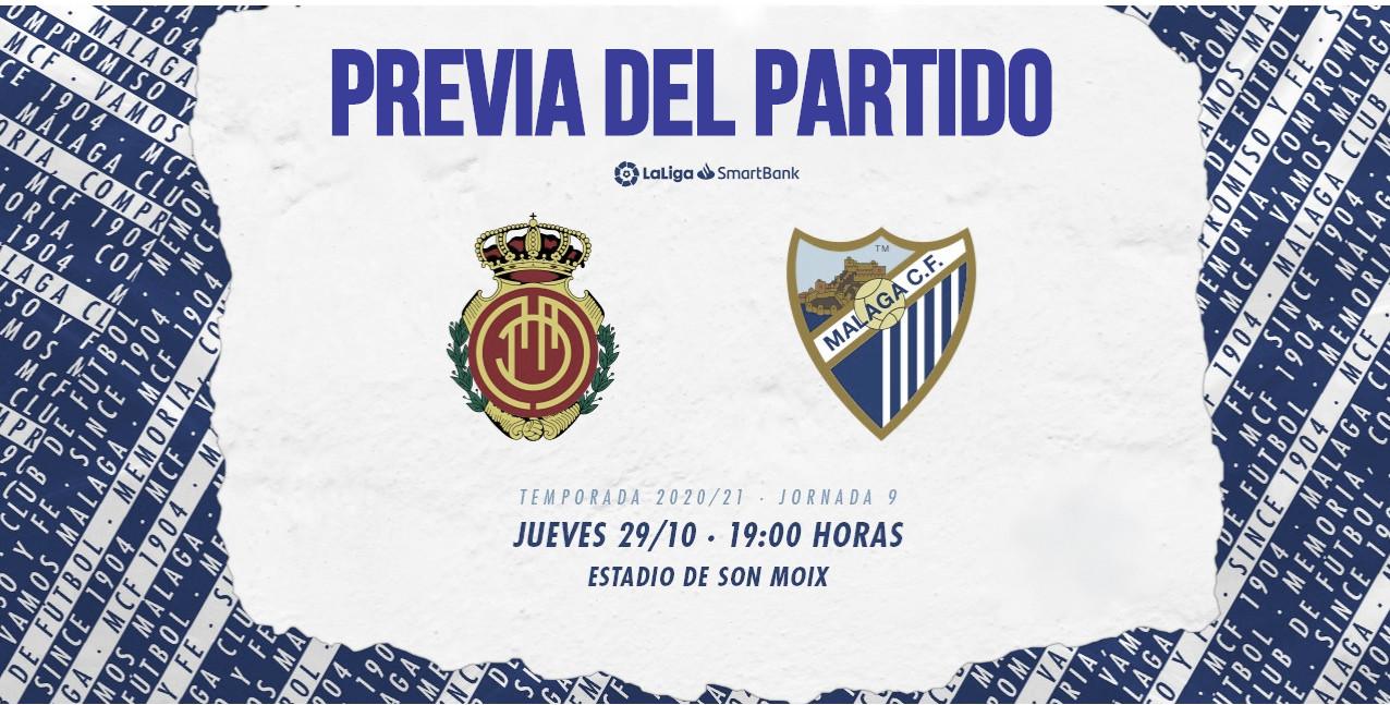 <span>Previa RCD Mallorca - Málaga CF | Foto: Málaga CF</span>