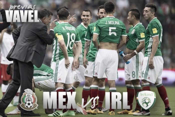 México vs Irlanda: la previa, alineaciones y pronóstico