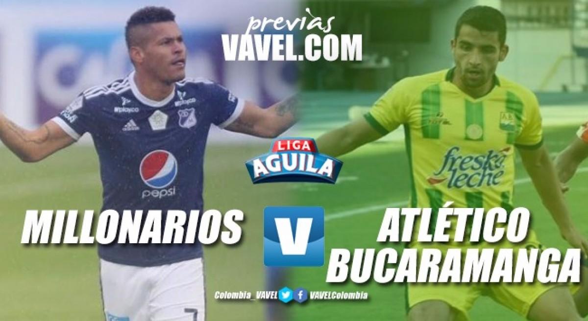 Previa Millonarios vs. Atlético Bucaramanga: Tres puntos para confirmar la 'resurrección'