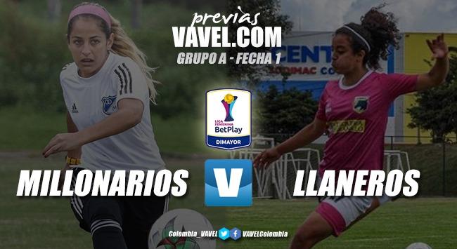 Previa Millonarios vs. Llaneros: por un inicio con el pie derecho en la Liga Femenina