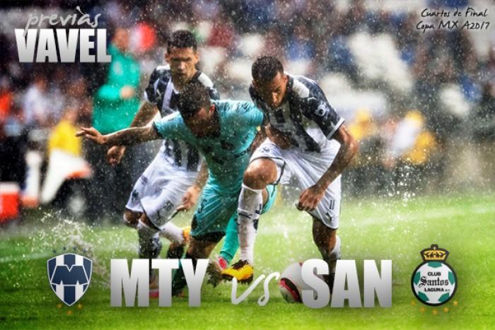 Previa Monterrey - Santos: Por un lugar en las semifinales