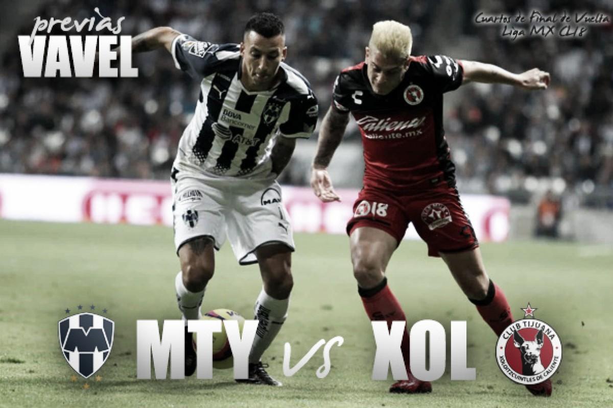 Previa Monterrey – Xolos: por el pase a semifinales