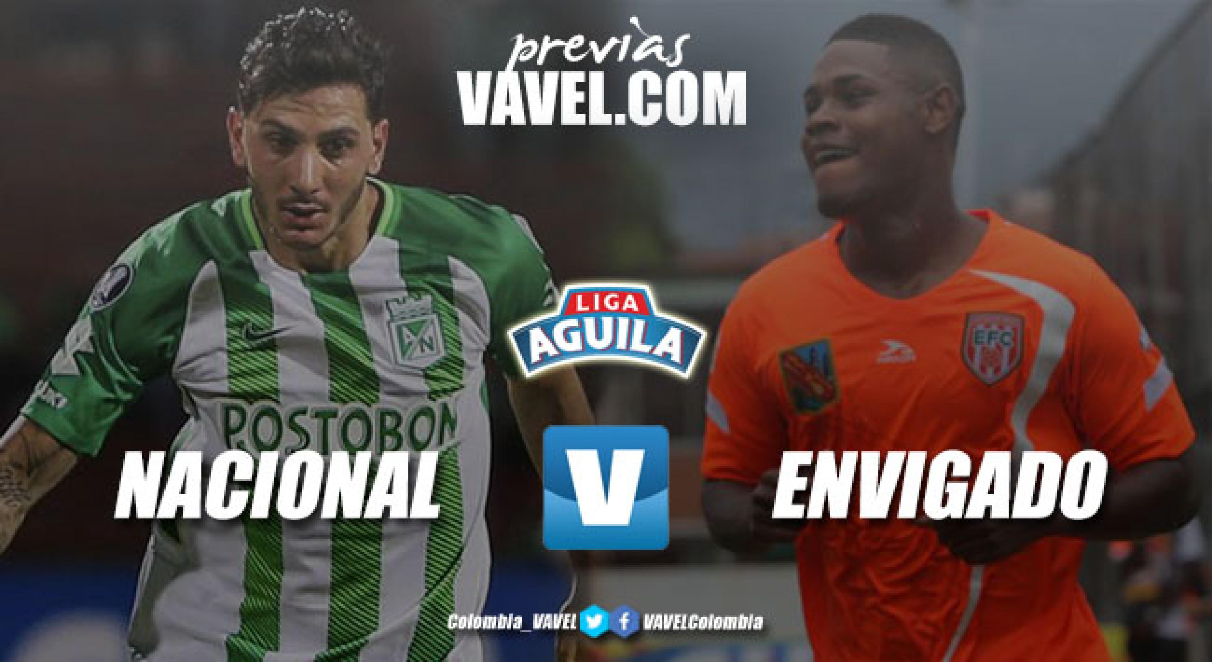 Previa Atlético Nacional - Envigado FC: 'clásico joven' con intensidad