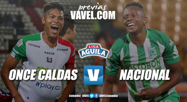 Previa Once Caldas vs Atlético Nacional: Duelo por la clasificación